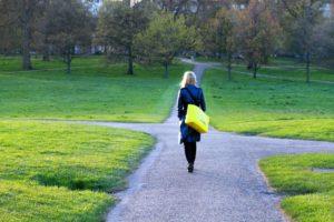 faire un choix, choisir une direction, donner du sens à sa vie